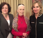 Pat Thomas, Jane Goodall, Fran Price
